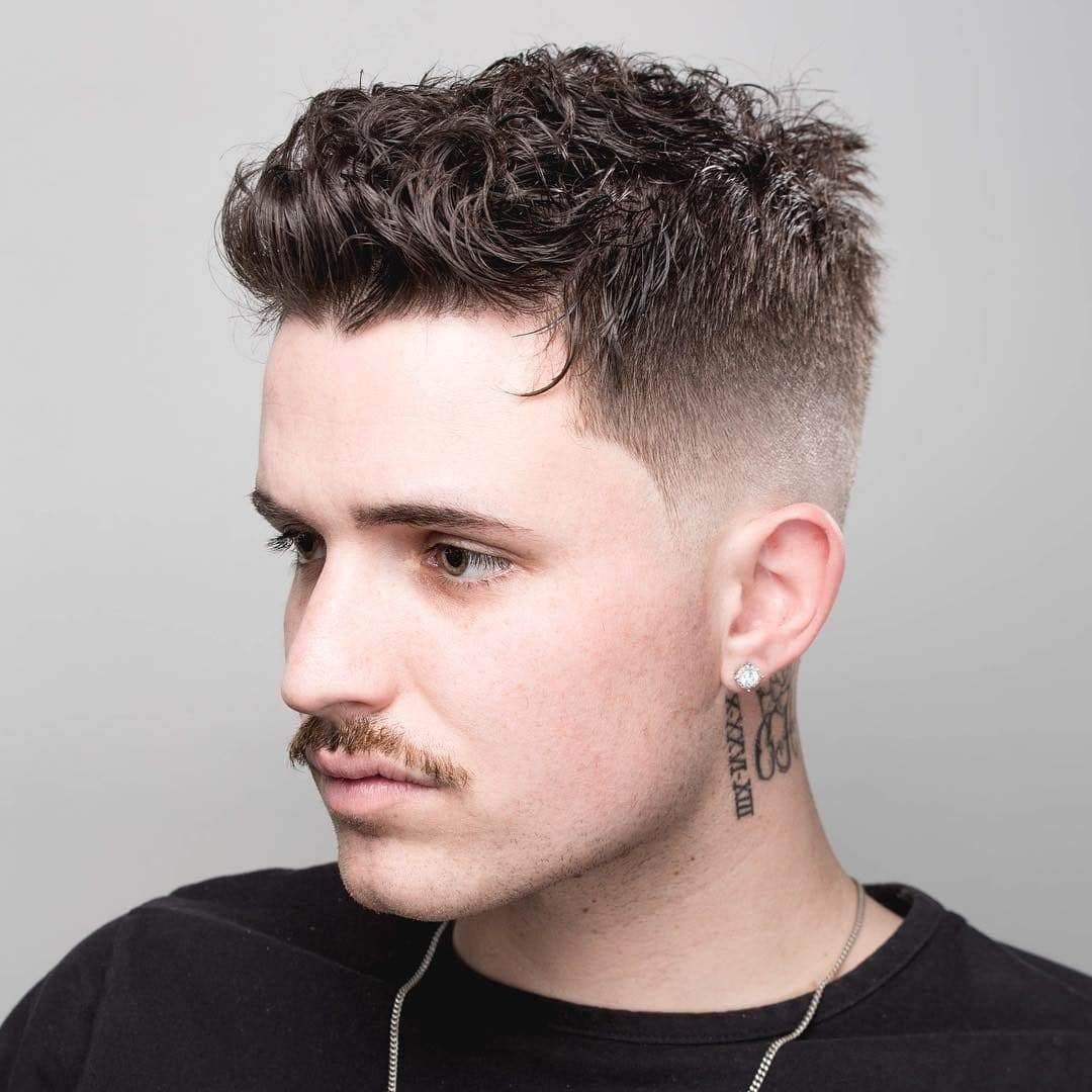 Short Hairstyles Men Mens Haircuts Short Short Curly Haircuts Mens Hairstyles Short