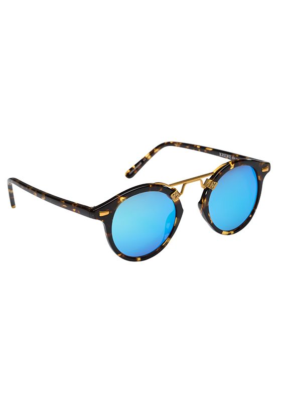 ST. LOUIS | Bengal Blue // 2016 sunglasses for oval face shapes