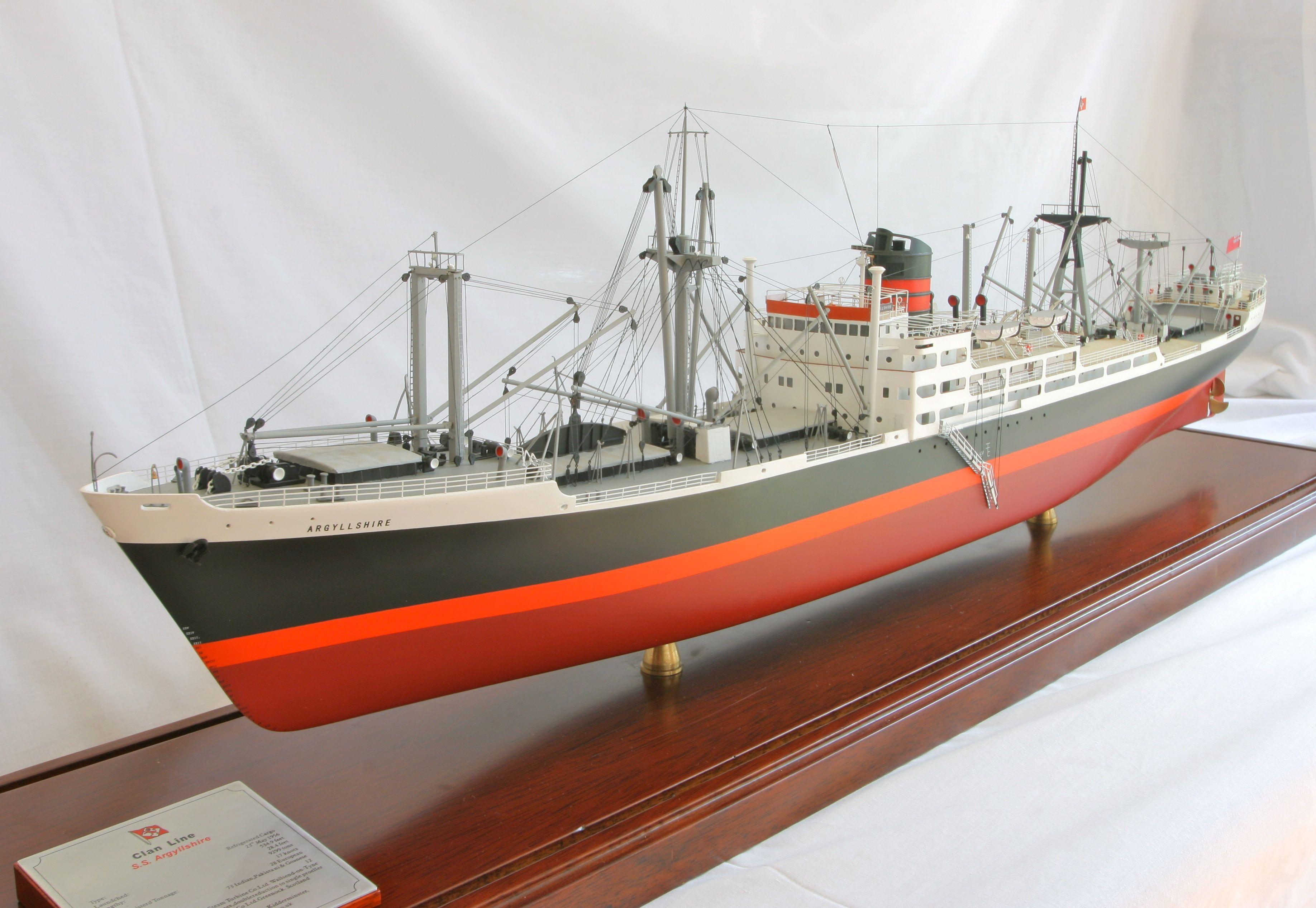 General Cargo Ship Models Boats Model Ships Scale