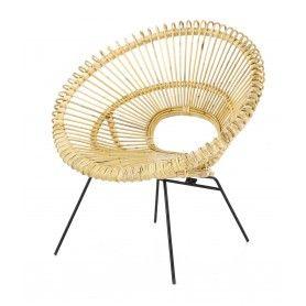 Collection Kubu Rotin Rattan Lounge Chair Woven Furniture Chair