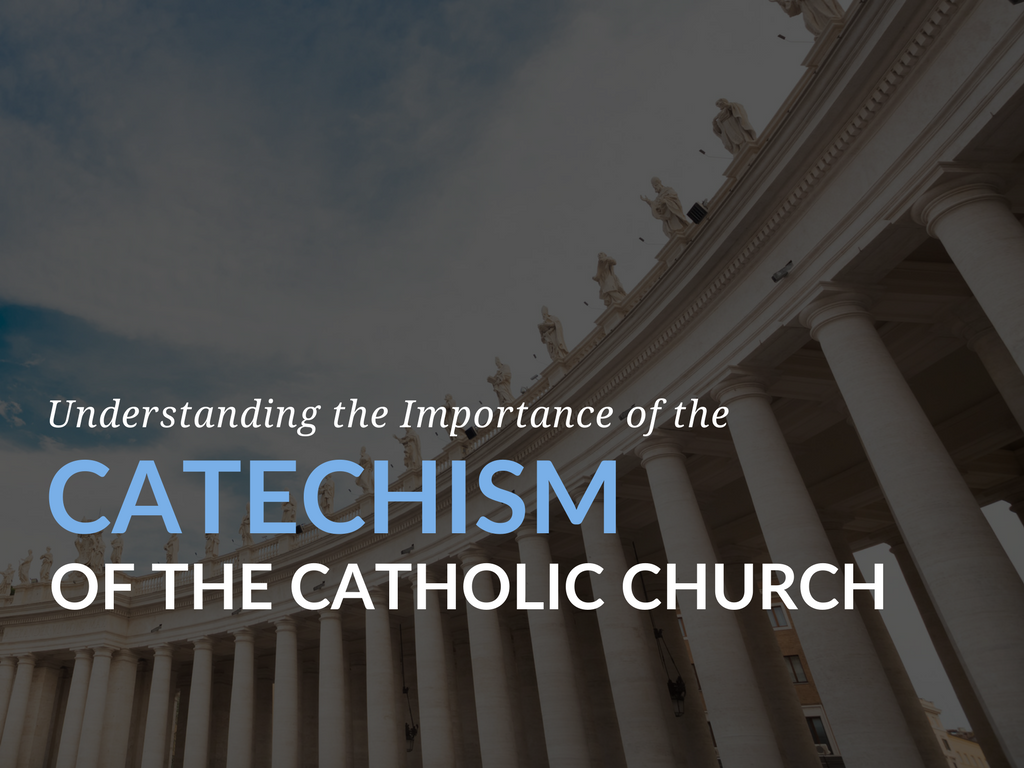 The Catechism Of The Church Was My First Introduction To