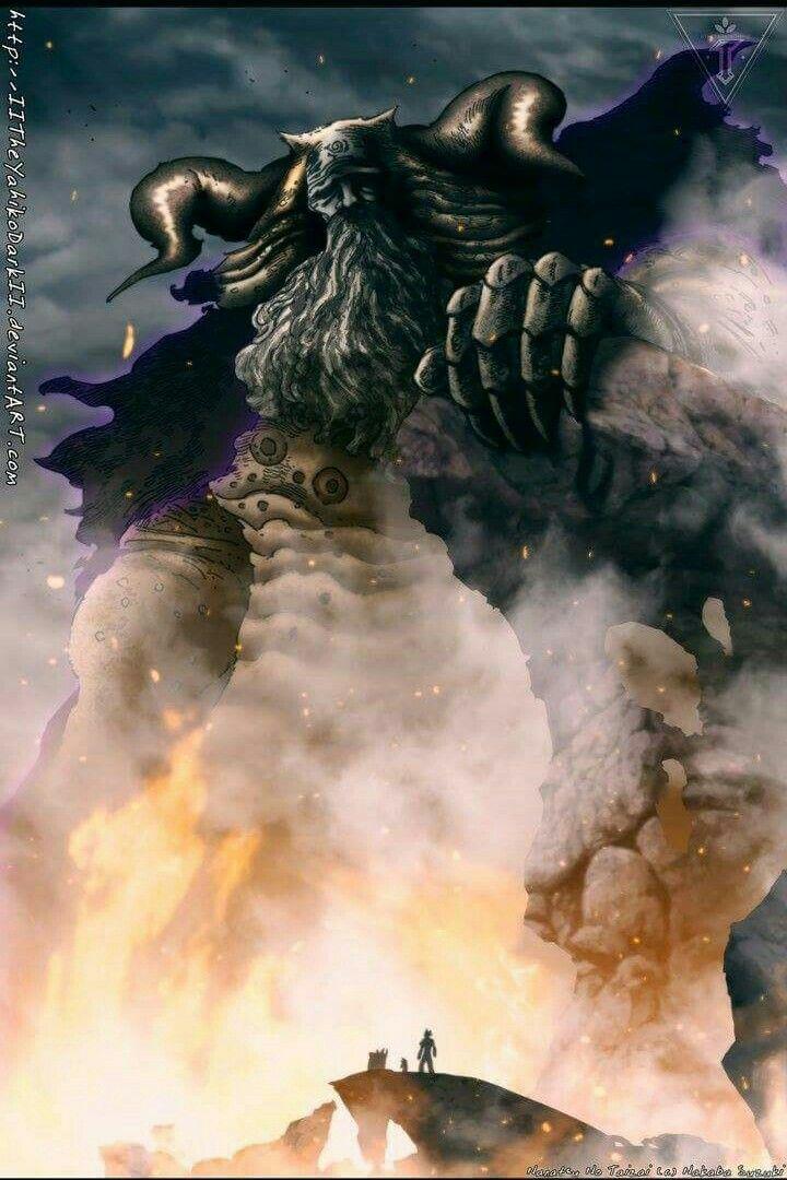 The Demon King Demon King Anime Anime King Seven Deadly Sins Anime