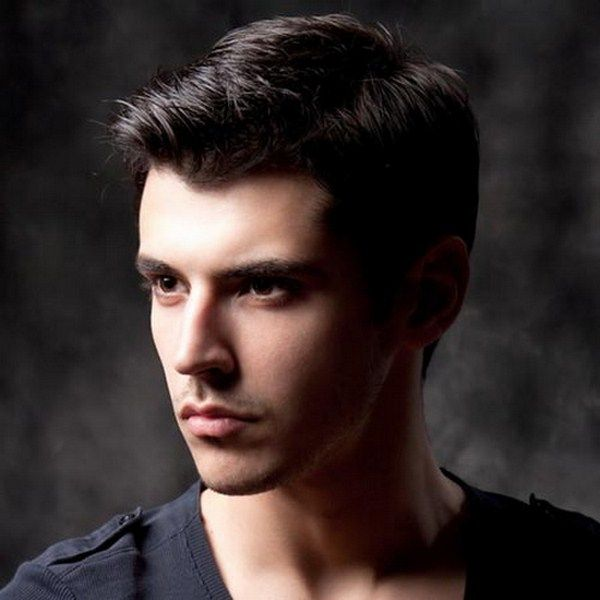 Best Haircuts For Guys With Straight Hair : Top mens short hairstyles for thick hair 2016 2014
