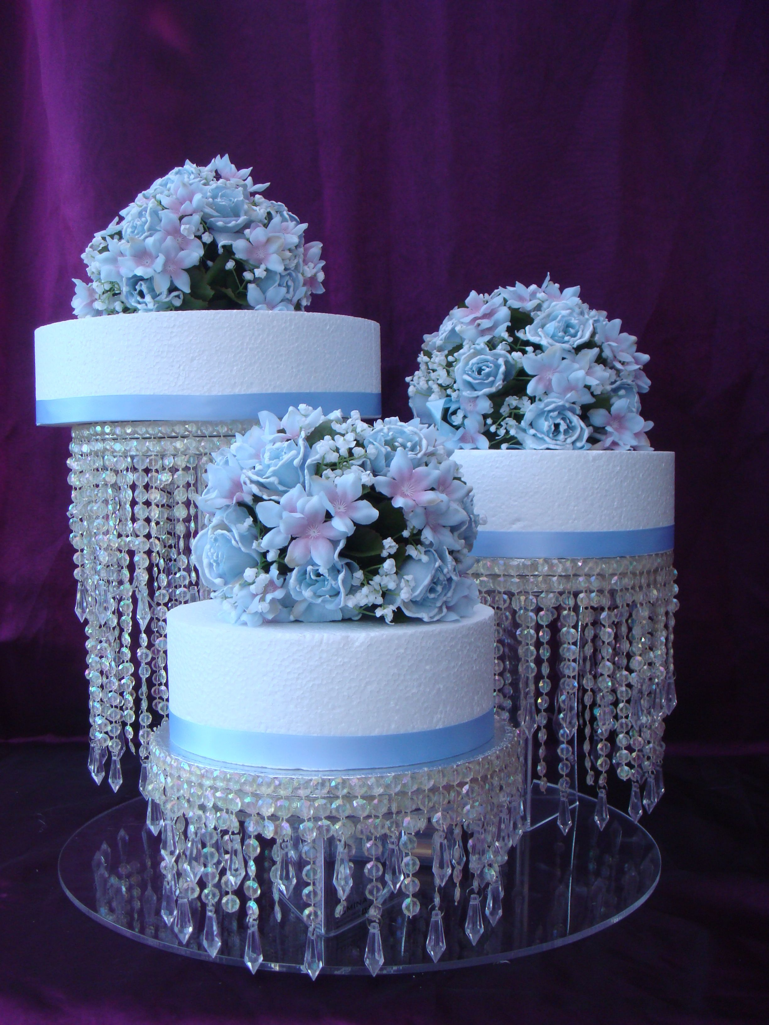 Hand Made Crystal Decorated Cake Boards Cakes Pinterest Cake - Wedding Cake Boards