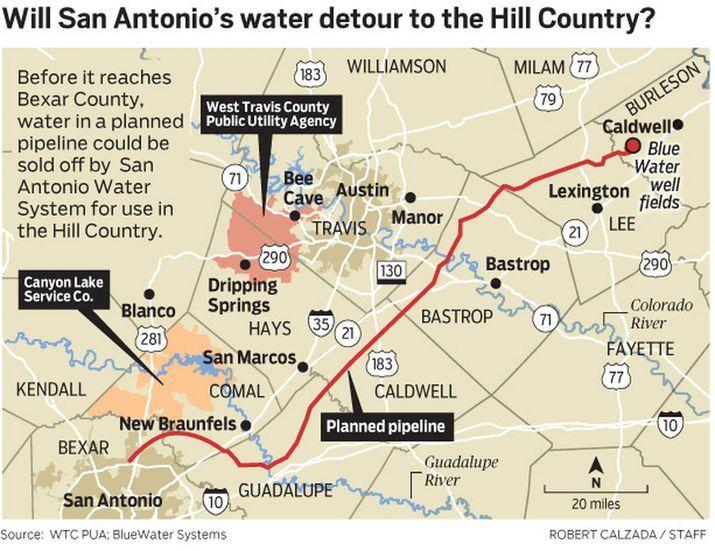 Massive Central Texas pipeline project runs into turbulence
