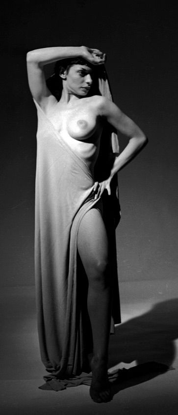 S Wild Peter Basch  Negative Erotic Model Shirley Levitt Nude Photo