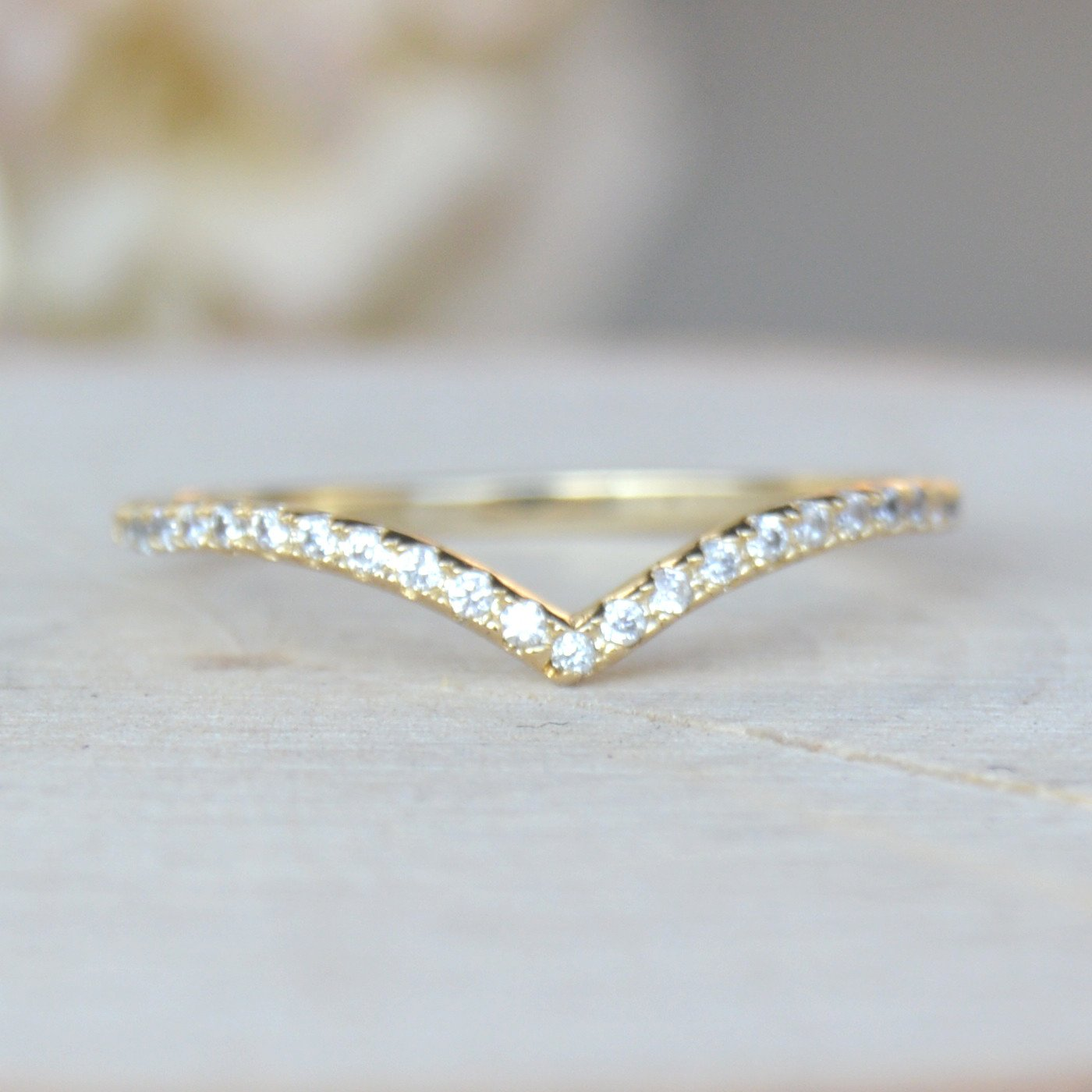 V Ring - Gold | Ring, Gold and Stylish jewelry