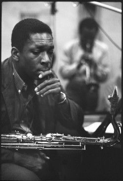 John Coltrane Miles Davis Kind of Blue session