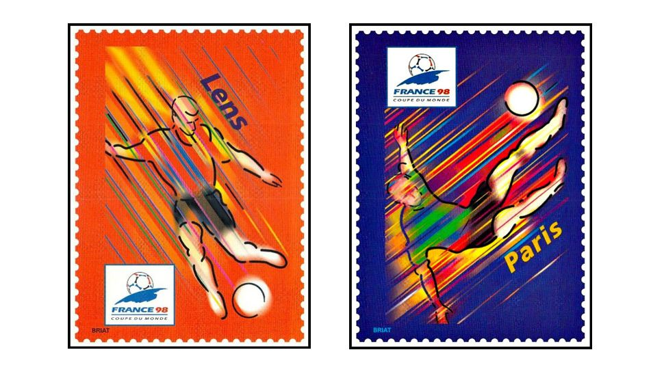 World Cup '98 Stamps