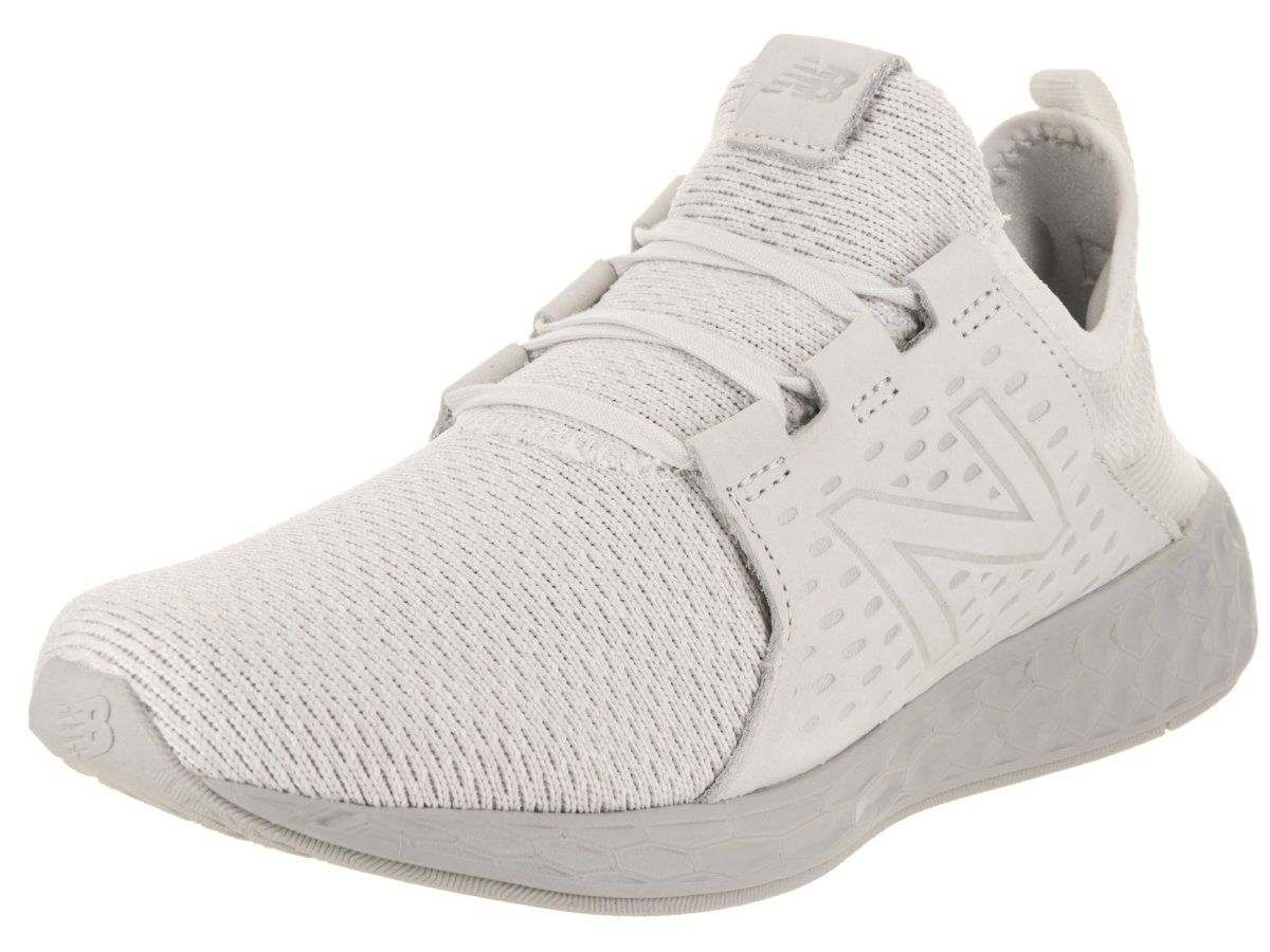 4c1729f7cb6 New Balance Mens Fresh Foam Cruz Running ShoeWhite MUNSELL Nimbus Cloud12 DM  US -- Visit the image link more details. (This is an affiliate link)