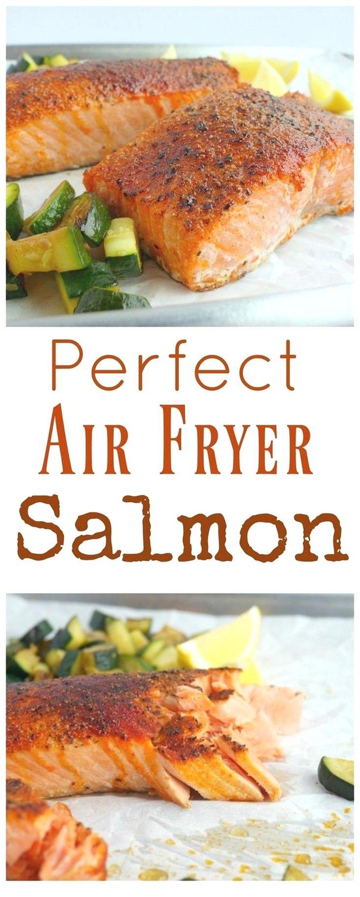 Easy Air-fryer Recipes | Perfect Air Fryer Salmon