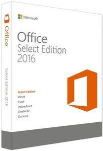 Microsoft Office Select Edition 2016 VL v16 0 4312 1000 Full