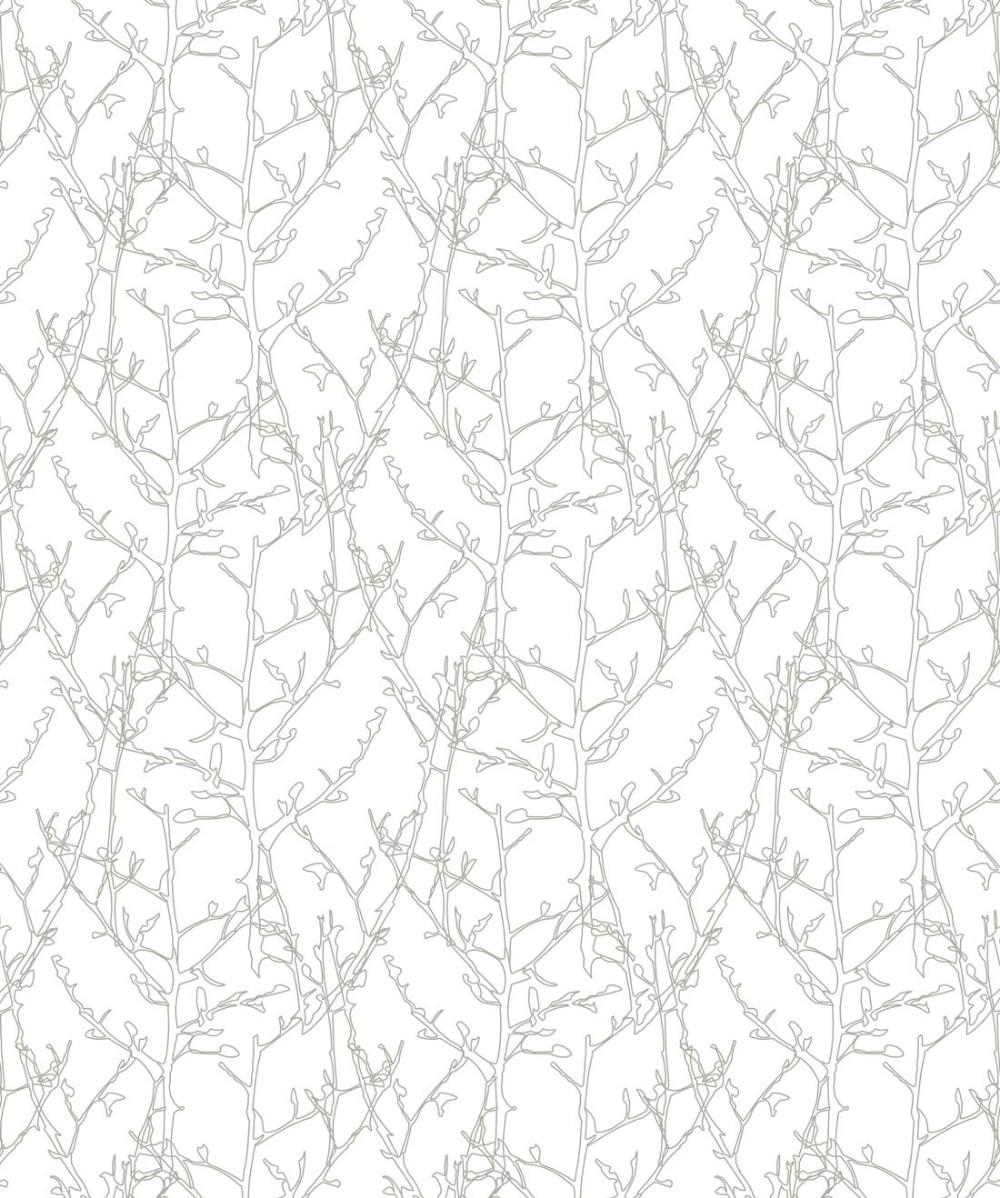 Twigs Wallpaper, A Delicate & Subtle Botanical Print