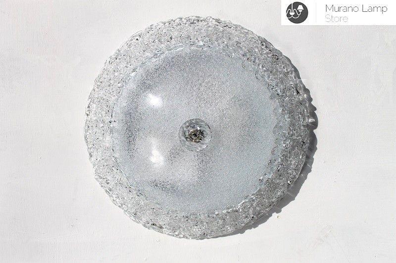 Plafoniere In Vetro Di Murano : Plafoniera d cm in vetro di murano eur picclick it