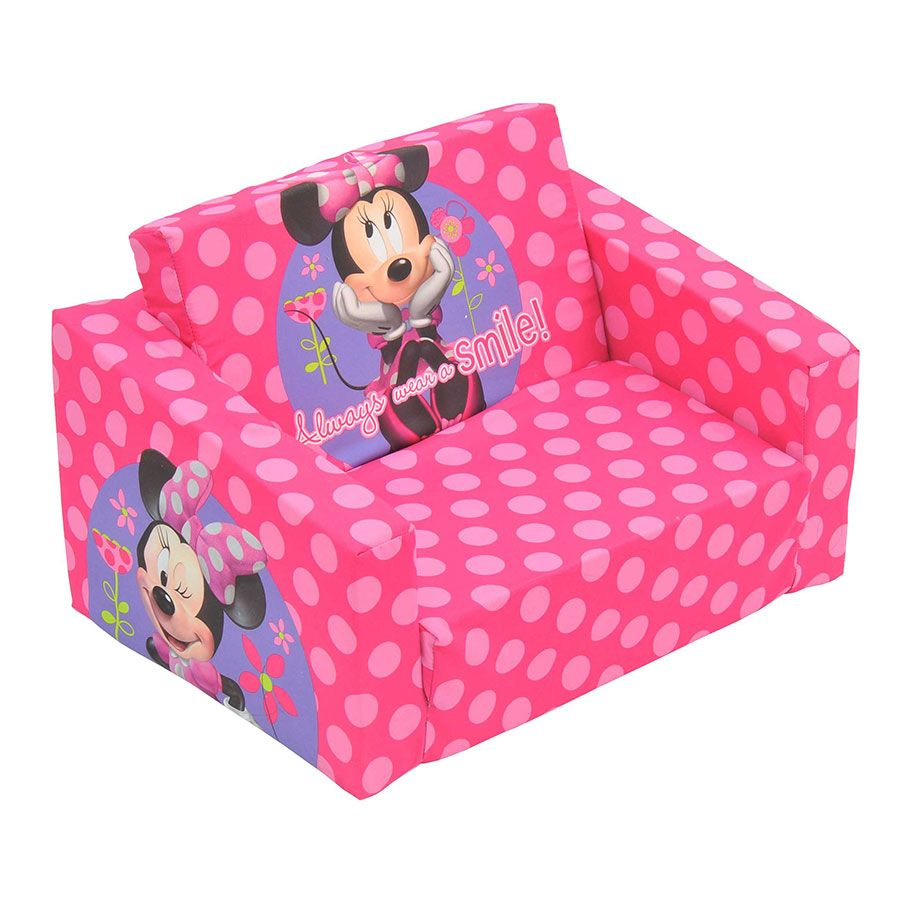 Flip Out S Kids Sofa Cute Furniture Minnie Mouse Toys