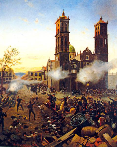 Batalla Del 2 De Abril 1867 Puebla Mexico Puebla Walking Tour Mexico Culture