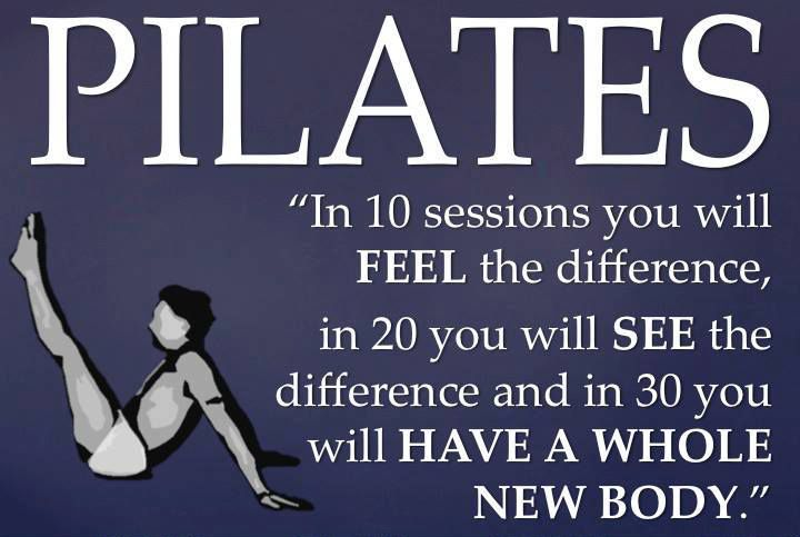 This is crap. I did Pilates for a month and I think what it should say is if you do Pilates 24/7 for a month you will have a whole new body. One that is very tired.