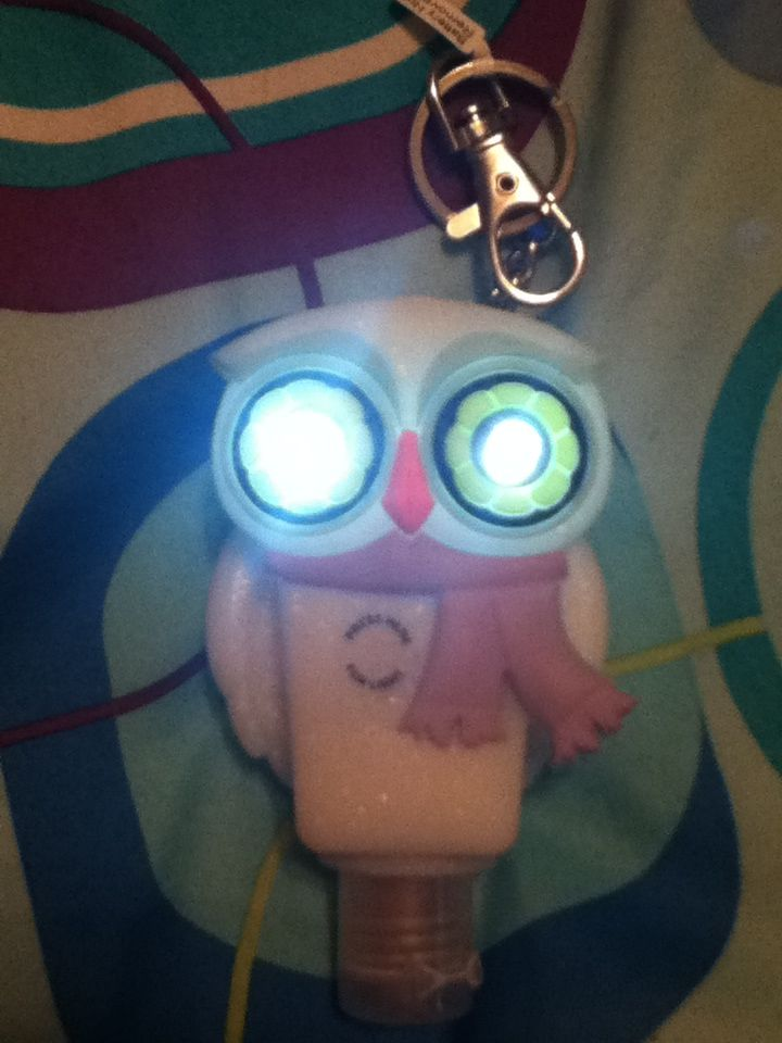 Owl Hand Sanitizer Holder It S Eyes Glow Xd Good Hand Sanitizer
