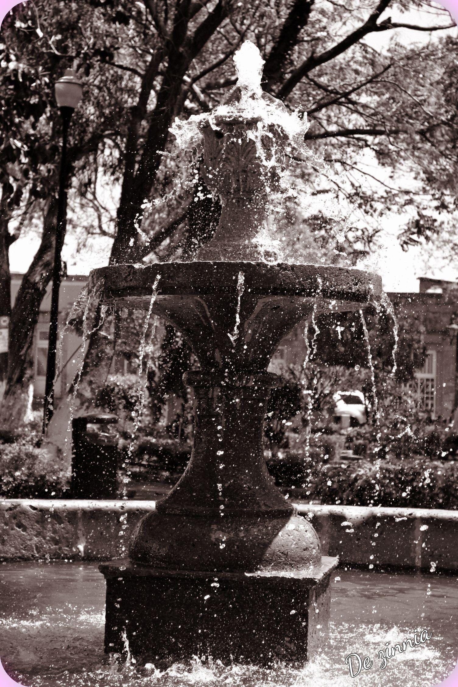 las bellas fuentes de Morelia ;)