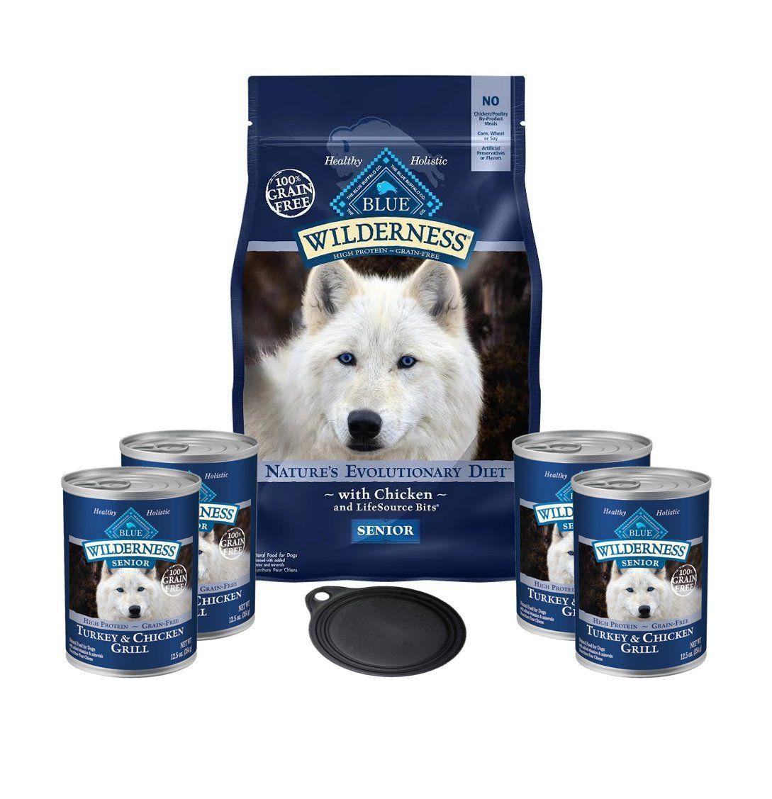 Blue Buffalo Wilderness Dog Food High Protein Grain Free Senior