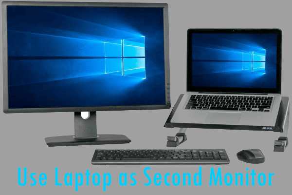 How To Use A Laptop As A Second Monitor For Multitasking Monitor Best Home Automation System Multi Tasking