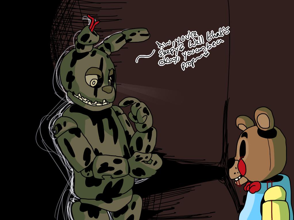 Image 904412 Springtrap Fnaf Wallpapers Five Nights At Freddy S Fnaf Art
