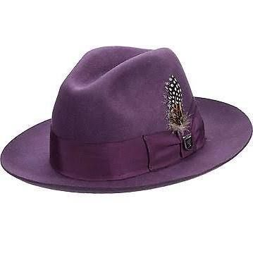 09108f8e4056b purple fedora hat mens - Google Search