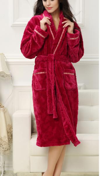 ae778abbe6 Peignoir rouge sexy femme en 2019 | intime&pyjama | Peignoir, Femme ...