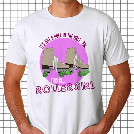 This is Rollergirl Tee, Creative tshirt, rollerskating, awesome movie quotes, epic movie quotes, quo #epicmovie