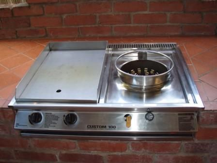 Wok Burners Commercial Wide Range Of Accessories Are Available For Your Bbq Unit Outdoor Kitchen Bbq Kitchen