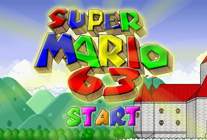 Pin By Online Games On Unblocked Games Super Mario Mario 63 Mario