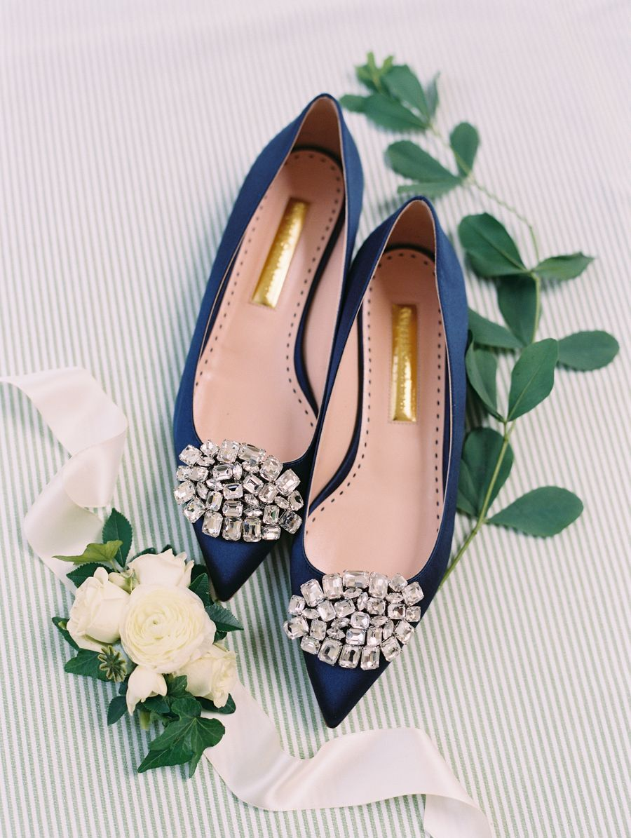 Blue wedding shoes photography monachetti weddings weddingshoes
