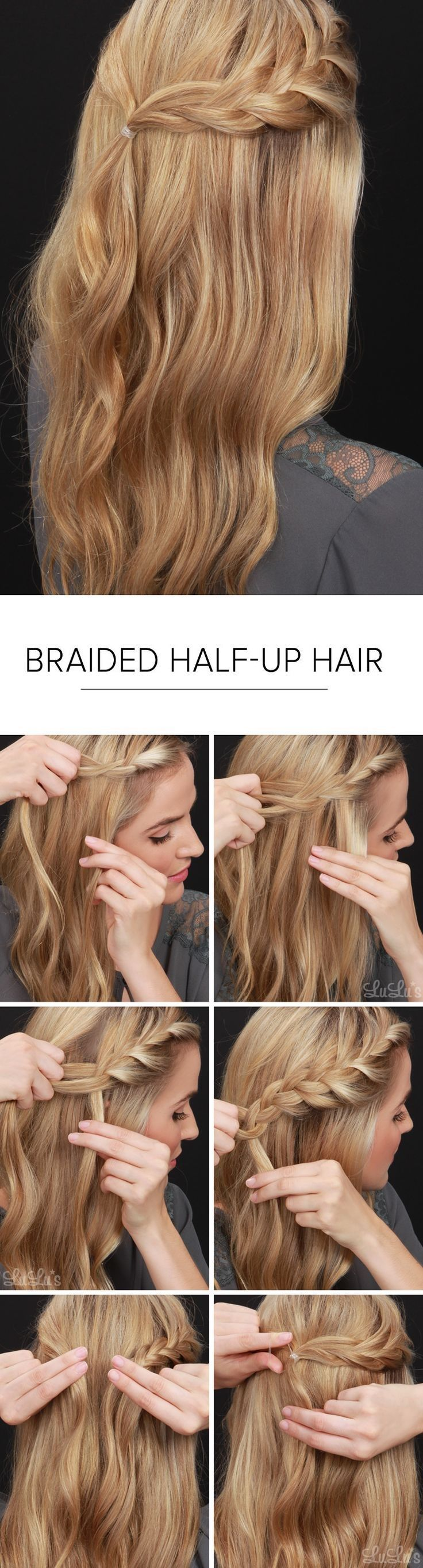 Cute hairstyles you can do in under minutes peinados