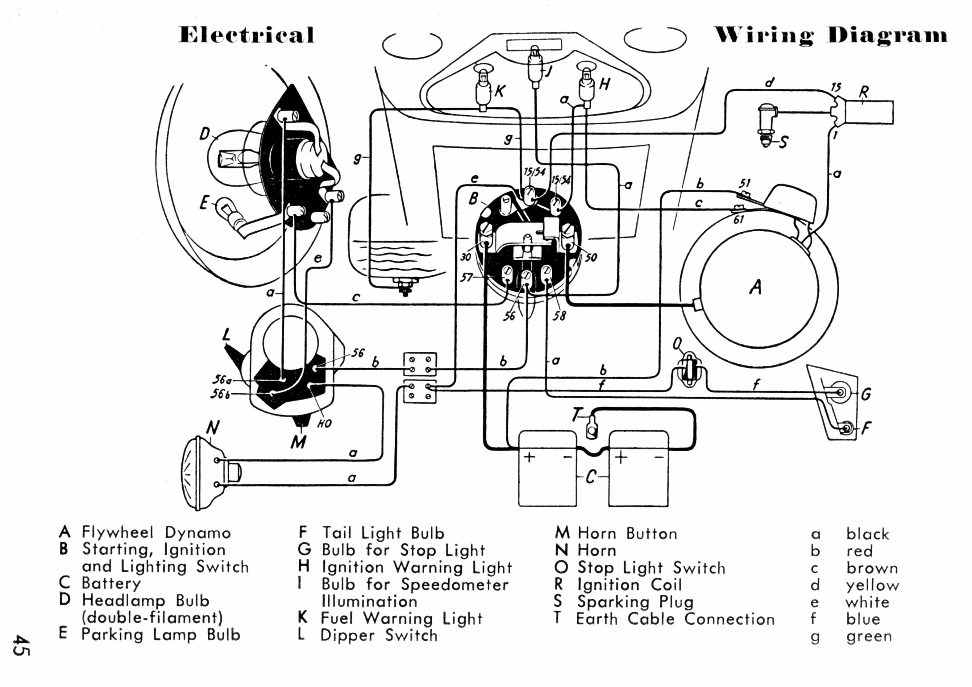 Universal Headlight Switch Diagram Auto Parts Diagrams