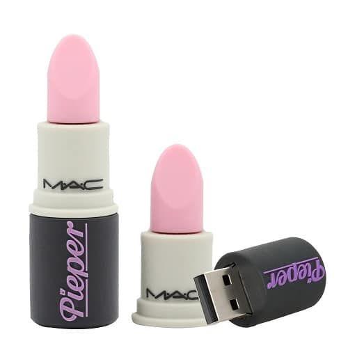 MAC Lipstick Flash Drive. Back to school supplies. Backpack essentials