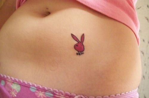 9bae68f92 Playboy Bunny Tattoo Designs: Pink Playboy Tattoo ~ Tattoo Design  Inspiration