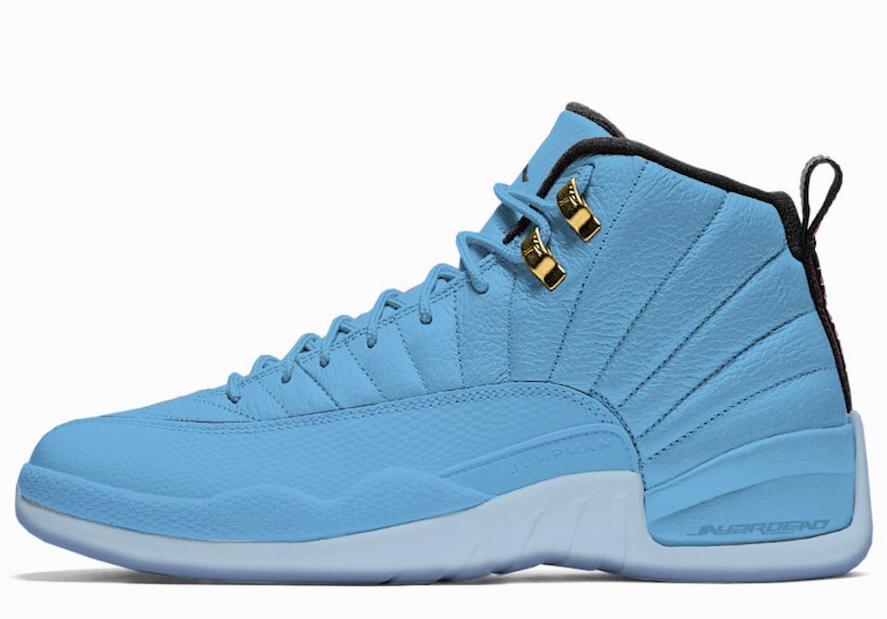 Air Jordan 12 University Blue 130690-430 - Sneaker Bar Detroit ...