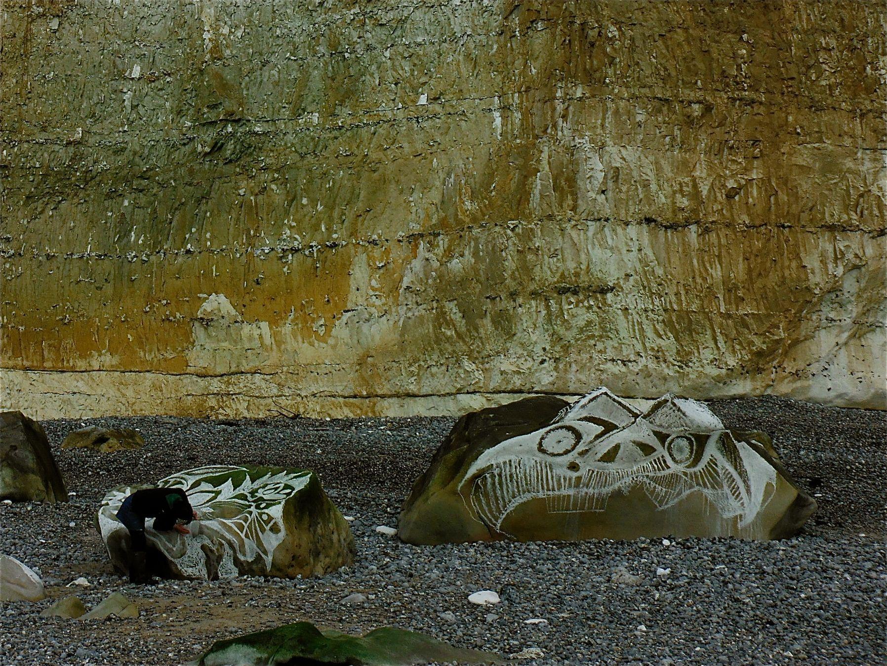 Strandwerken #kinderenvancalais. www.wpg.be/blog/hoog-ver-en-diep