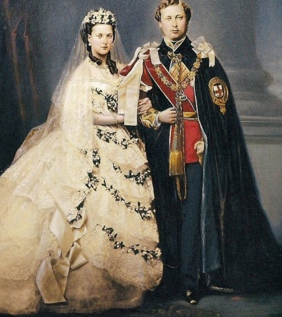Queen Victoria And Prince Albert With Summer Weddings And Anniversary Celebrations Ap Princess Alexandra Of Denmark Queen Victoria Wedding Alexandra Of Denmark [ 1083 x 963 Pixel ]