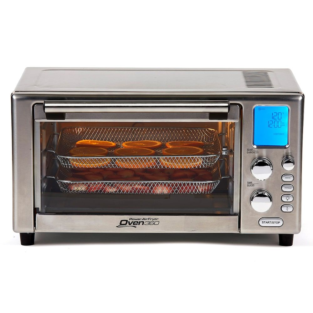 Power Digital Air Fryer Toaster Oven 360 As Seen On Tv Air Fryer Healthy Cooker Toaster