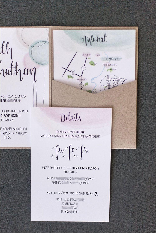 Pocket Einladung Detailansicht Einsteckkarten Einschübe Ideen   Von Anmut  Und Sinn