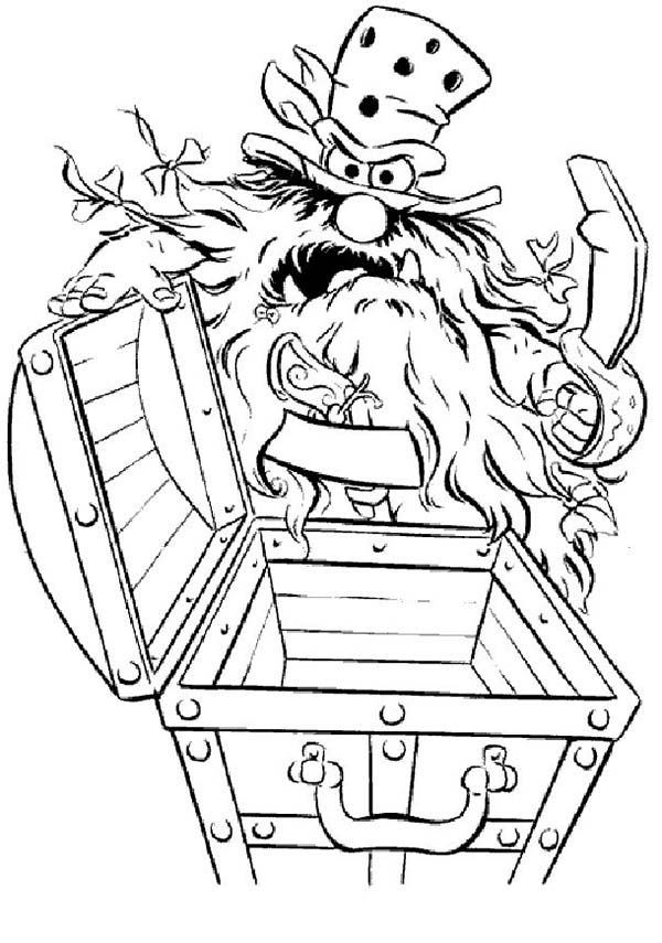 The Muppets Sweetums Found Empty Treasure Chest Coloring Pages Bulk Color Baby Coloring Pages Halloween Coloring Pages Printable Coloring Book