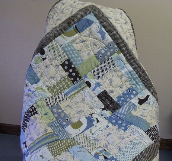 Butterfly quilt by Serenstitches on Etsy, $85.00
