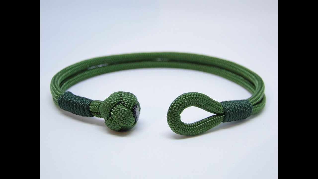 How to make a diamond knot and loop closurecommon whipping knot