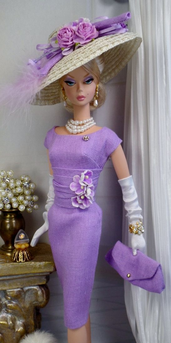 Easter Morning Custom Fashion Barbie Dress Beautiful