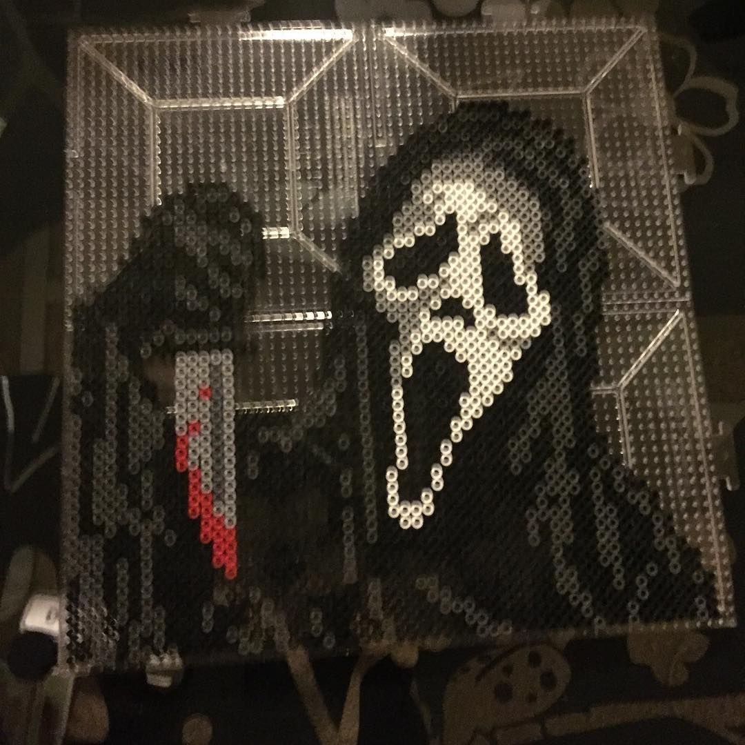 ghostface from scream by jessica  the great  hess