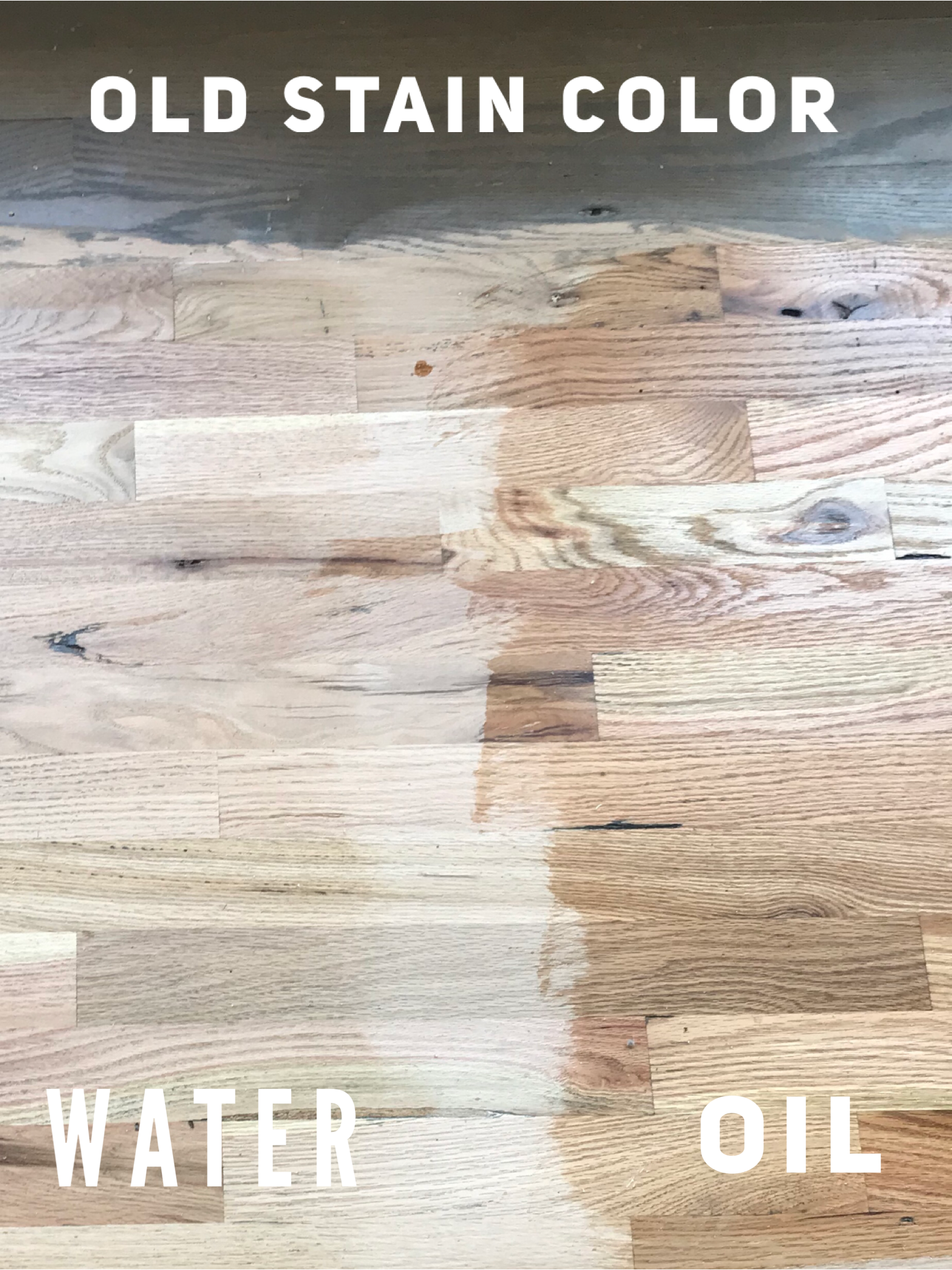 Hardwoods Red Oak Turned Blonde Red Oak Floors Floor Stain Colors Natural Oak Flooring