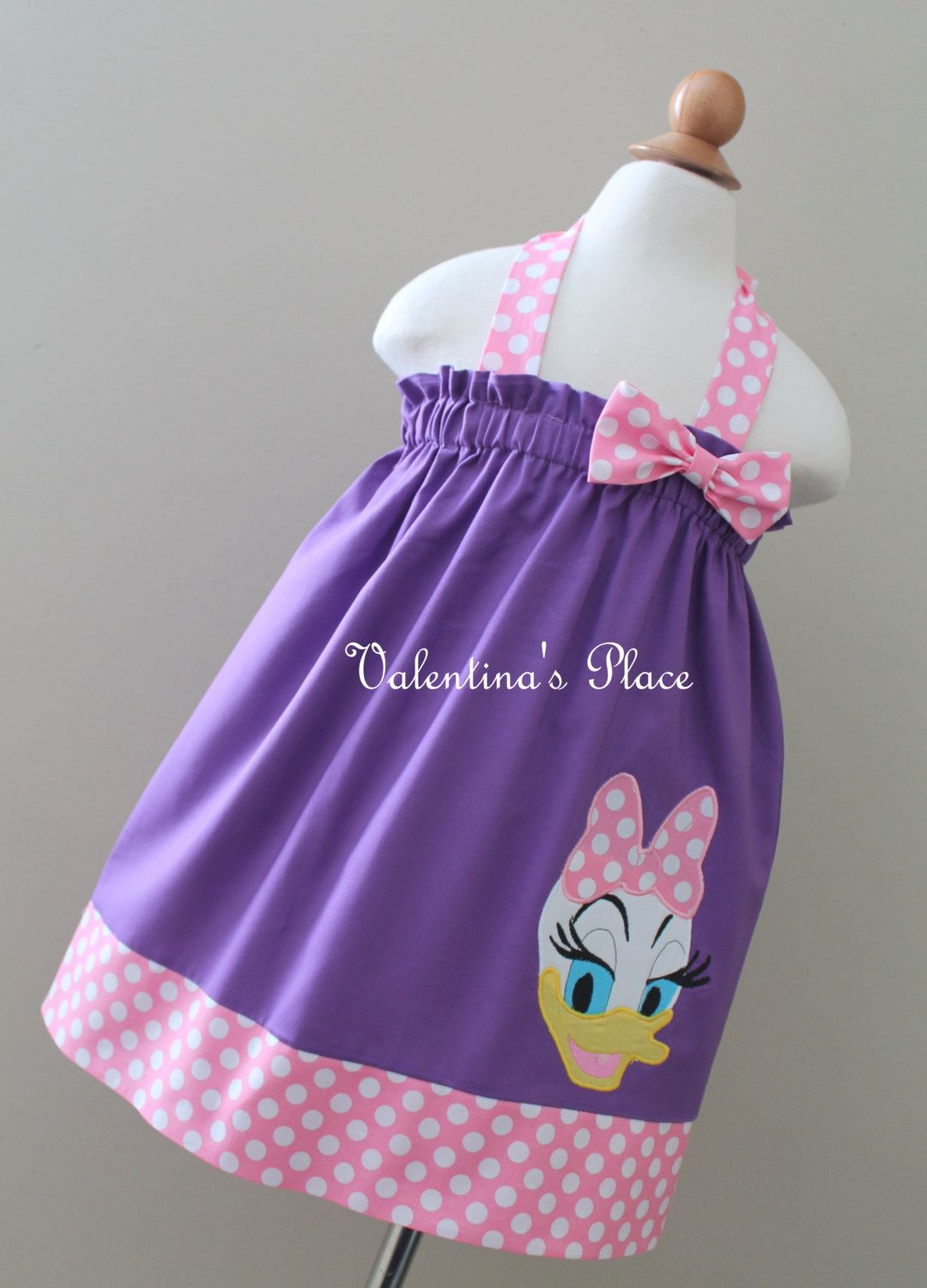 New and Unique Daisy Duck pillowcase dress or halter style dress ...