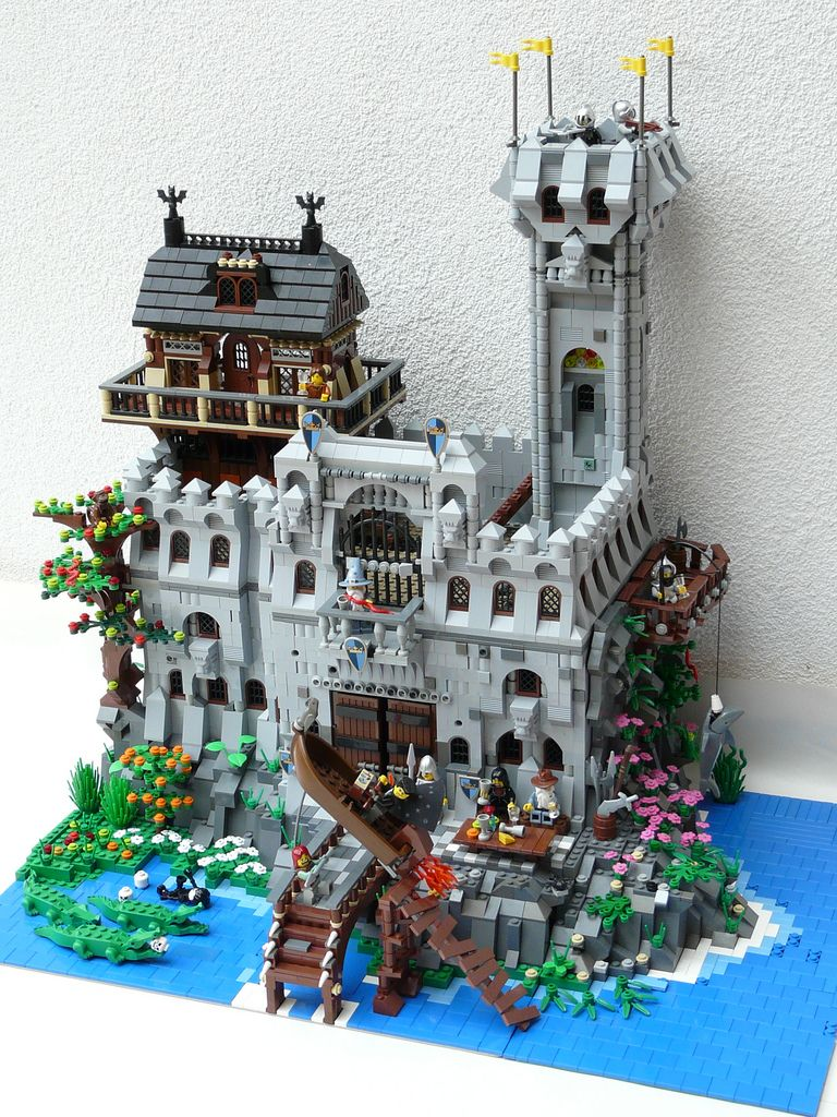 Medieval Knievel Entertains The Peasant Masses Lego Pinterest