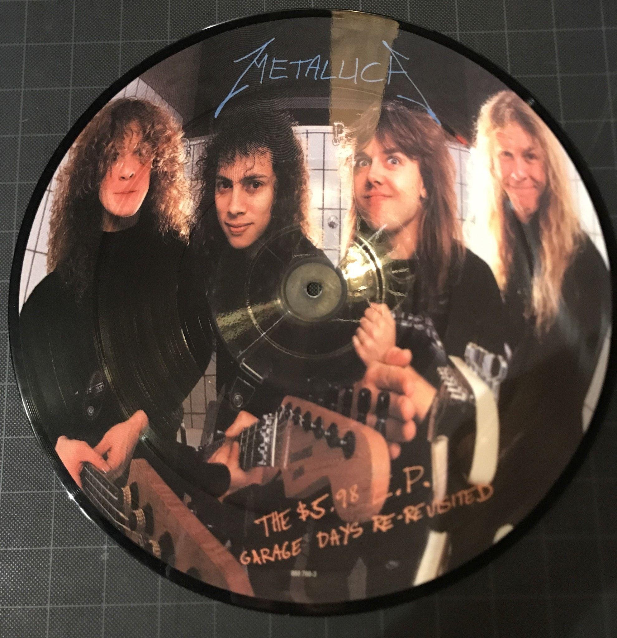 Metallica - The $5 98 E P  Garage Days Re-Revisited (Picture